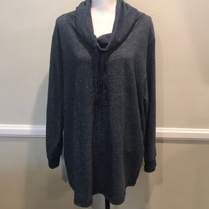 Just My Size cowl neck pullover sweater 4X 26w/28w